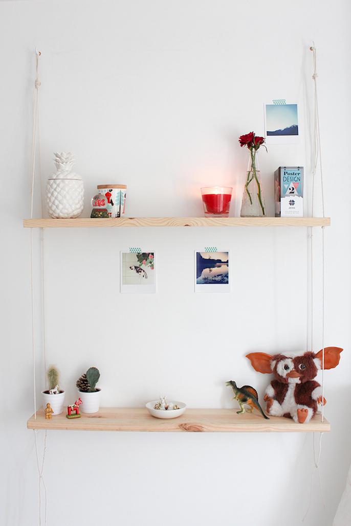 diy comment r aliser une tag re balan oire minou le. Black Bedroom Furniture Sets. Home Design Ideas