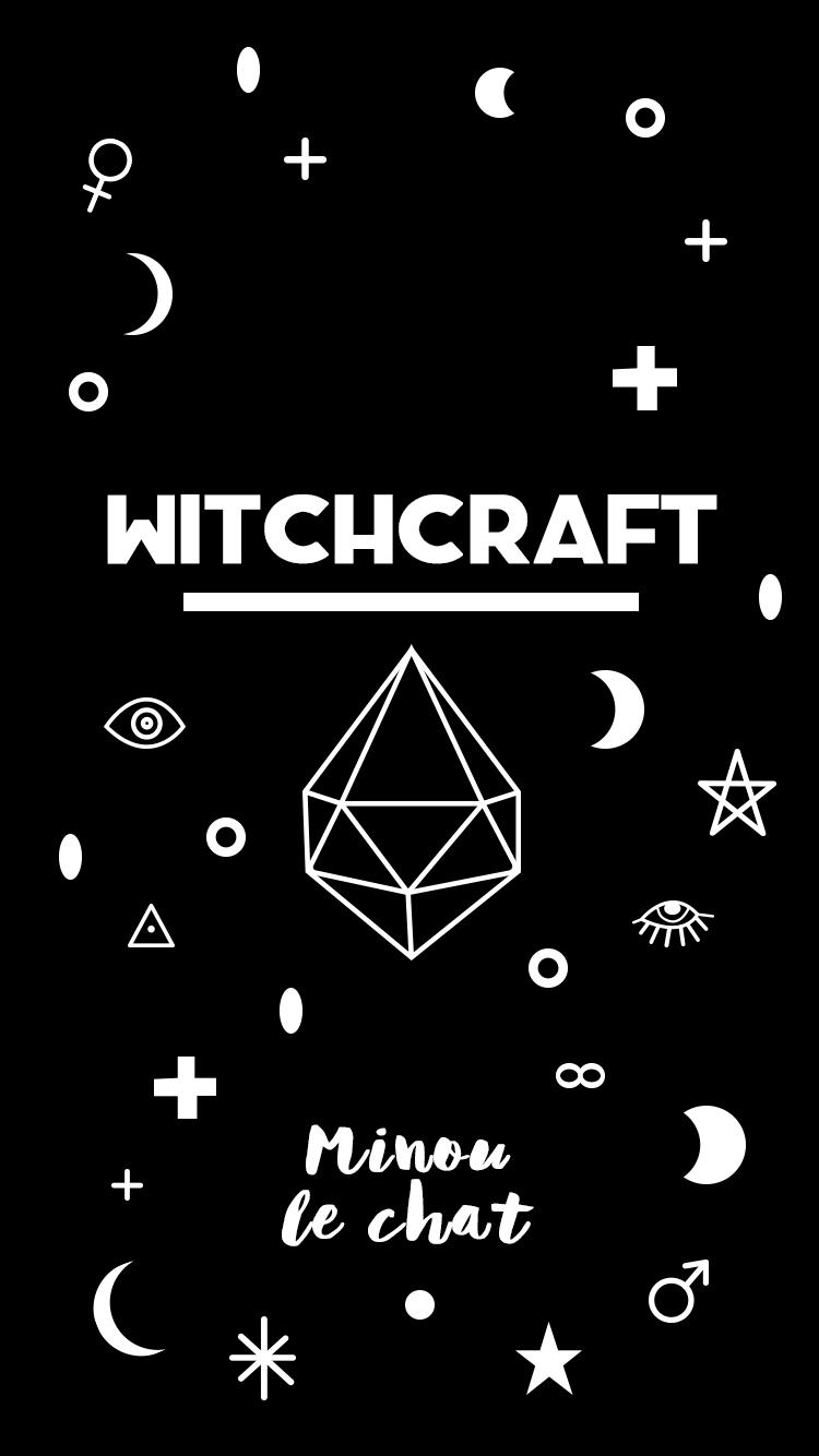 Fond d 39 cran halloween witchcraft minou le chat - Telecharger tfou gratuitement ...